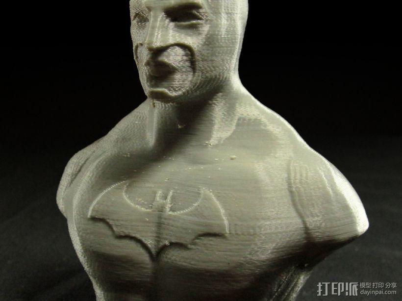 蝙蝠侠半身像 3D模型  图1