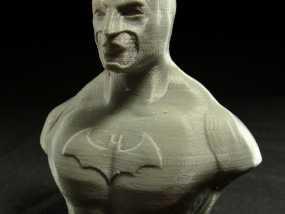 蝙蝠侠半身像 3D模型
