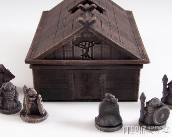 维京人的房子 3D模型  图5