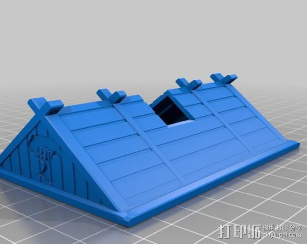 维京人的房子 3D模型  图9