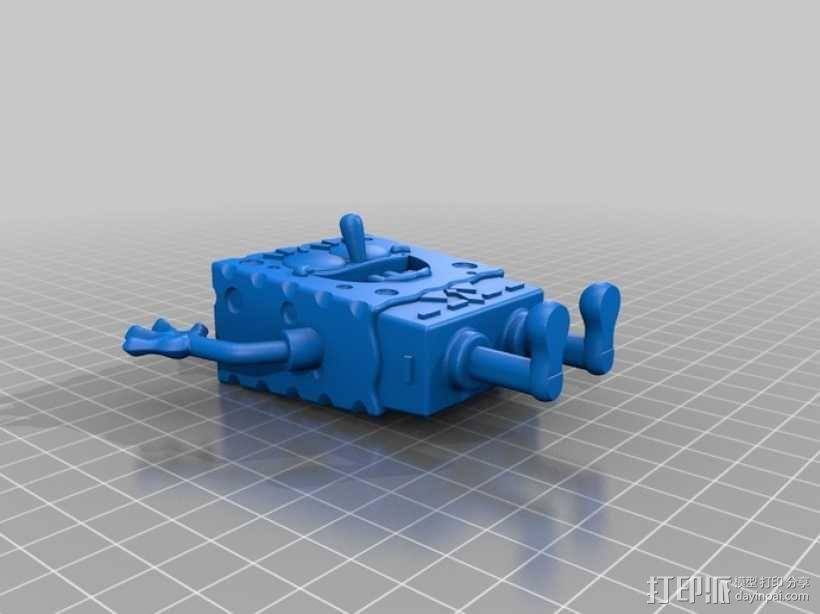 海绵宝宝 3D模型  图1