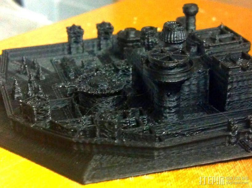 临冬城 建筑模型 3D模型  图2