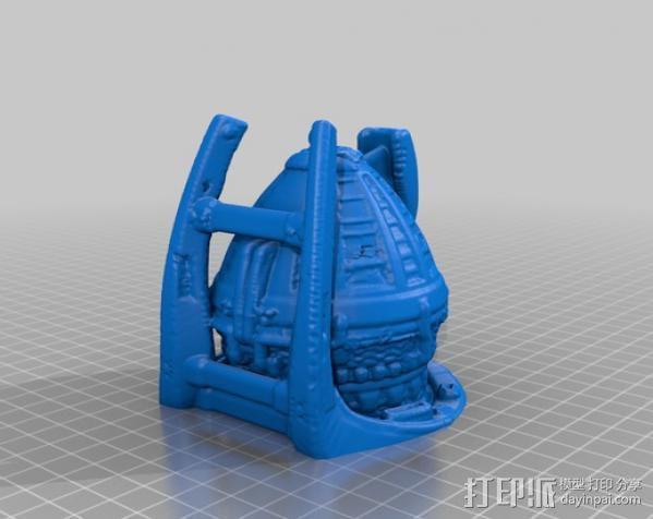 冲出宁静号飞机模型 3D模型  图2