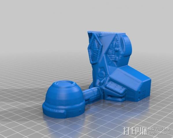 冲出宁静号飞机模型 3D模型  图5