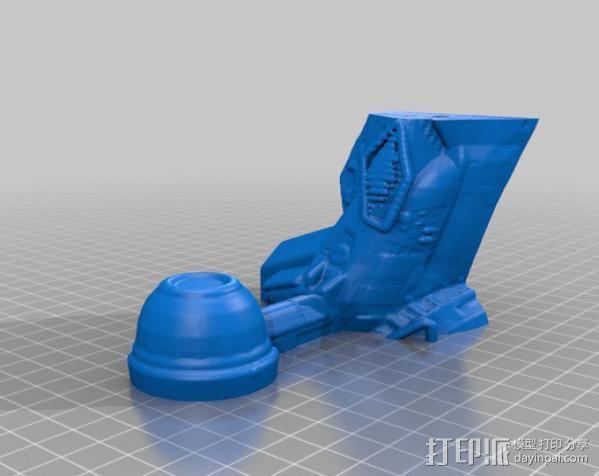 冲出宁静号飞机模型 3D模型  图6