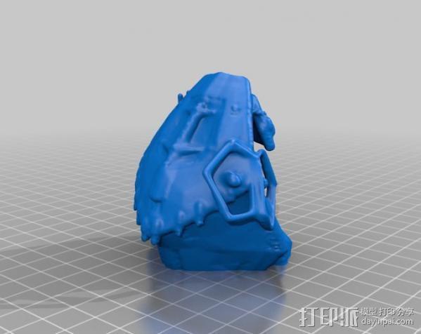 冲出宁静号飞机模型 3D模型  图7