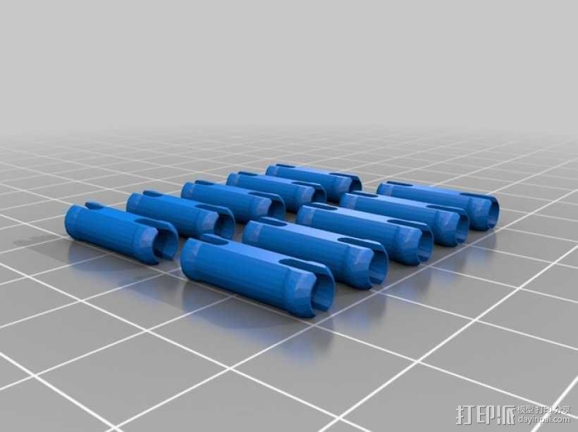 冲出宁静号飞机模型 3D模型  图8