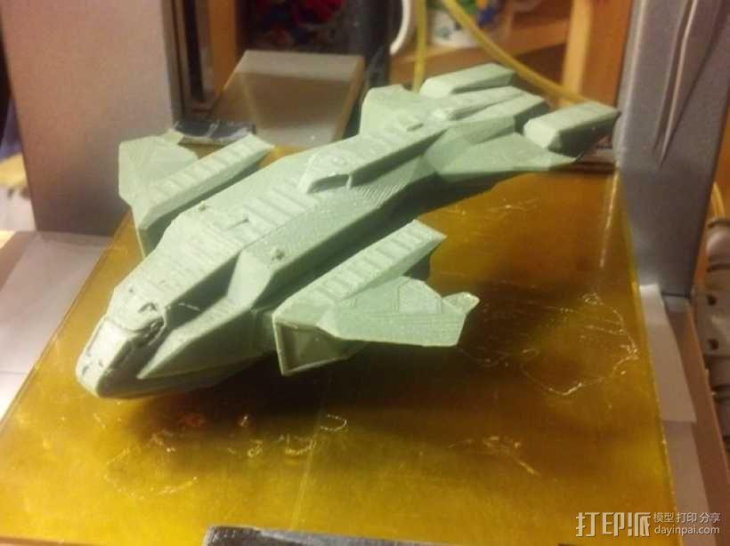 HALO(光晕)鹈鹕号运输机 3D模型  图1