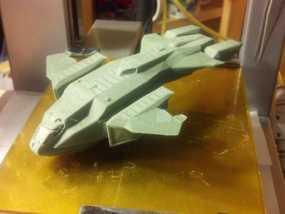 HALO(光晕)鹈鹕号运输机 3D模型