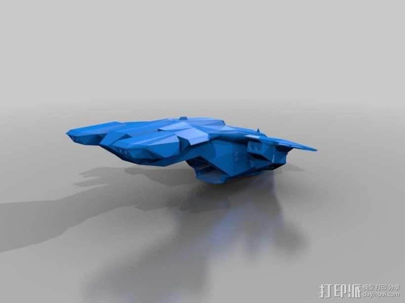 HALO(光晕)鹈鹕号运输机 3D模型  图4