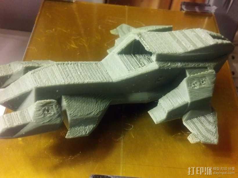 HALO(光晕)鹈鹕号运输机 3D模型  图2