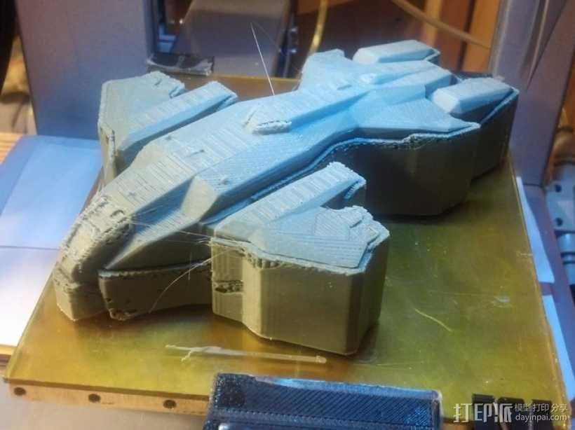 HALO(光晕)鹈鹕号运输机 3D模型  图3