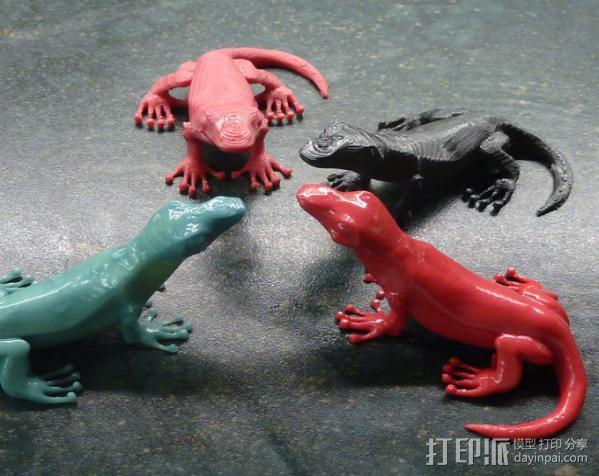 小蜥蜴 3D模型  图4