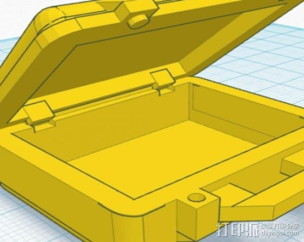 迷你Pelican安全箱 3D模型  图6