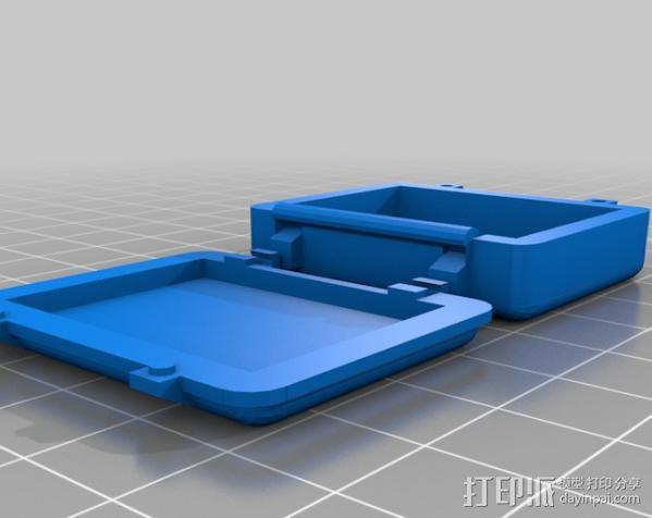 迷你Pelican安全箱 3D模型  图4