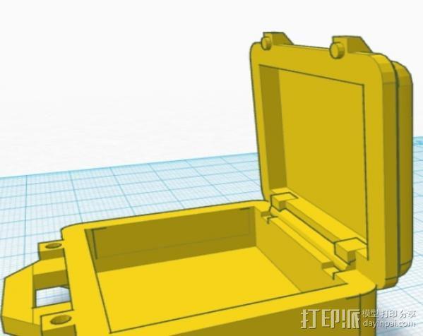 迷你Pelican安全箱 3D模型  图9
