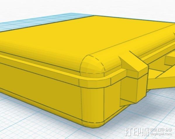 迷你Pelican安全箱 3D模型  图7