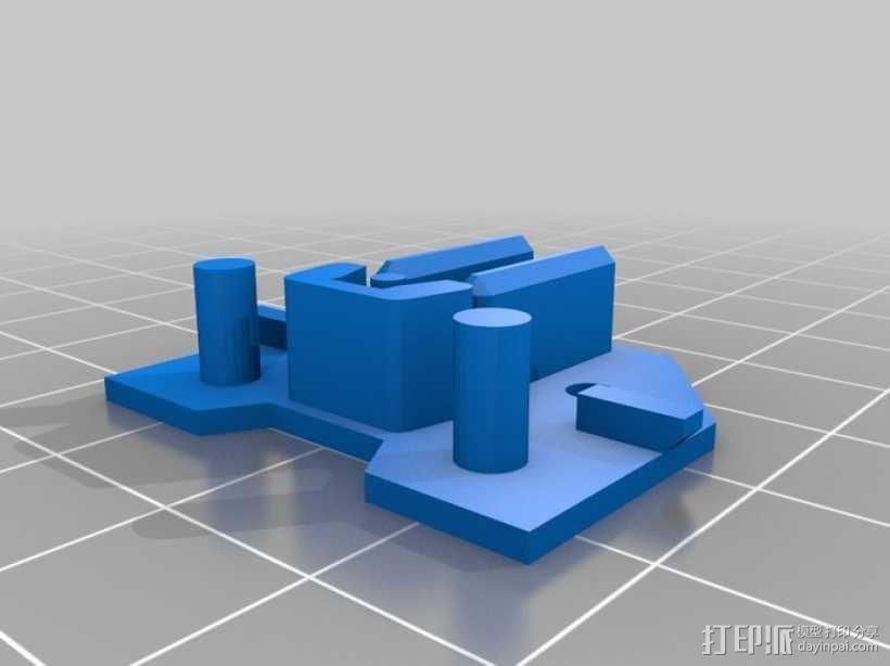 全息磁盘模型 3D模型  图3