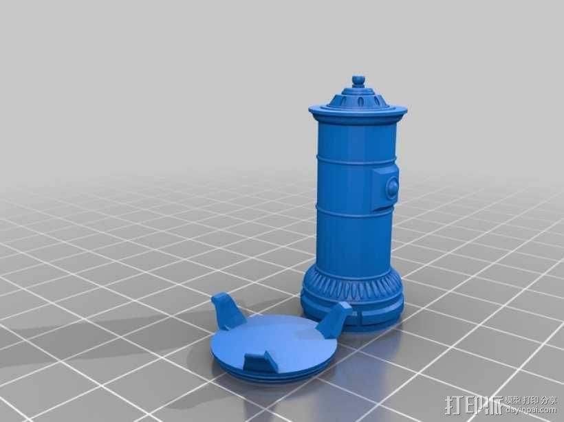 斯堪的纳维亚炉具 3D模型  图2