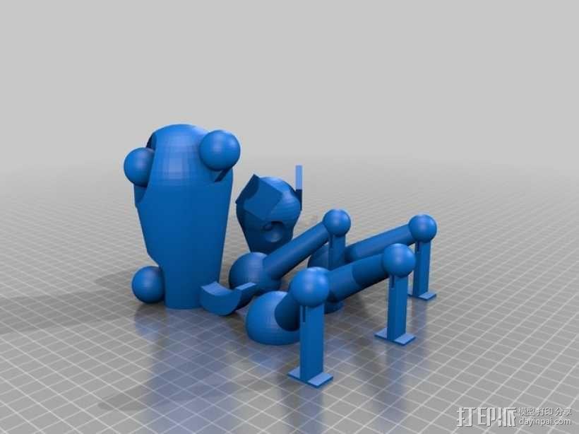 小狗 3D模型  图3