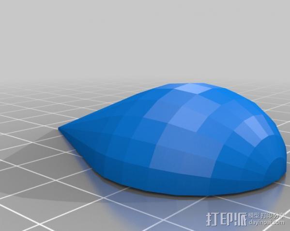 口袋妖怪图鉴徽章 3D模型  图4