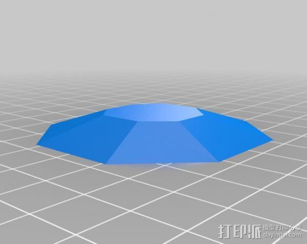 口袋妖怪图鉴徽章 3D模型  图3