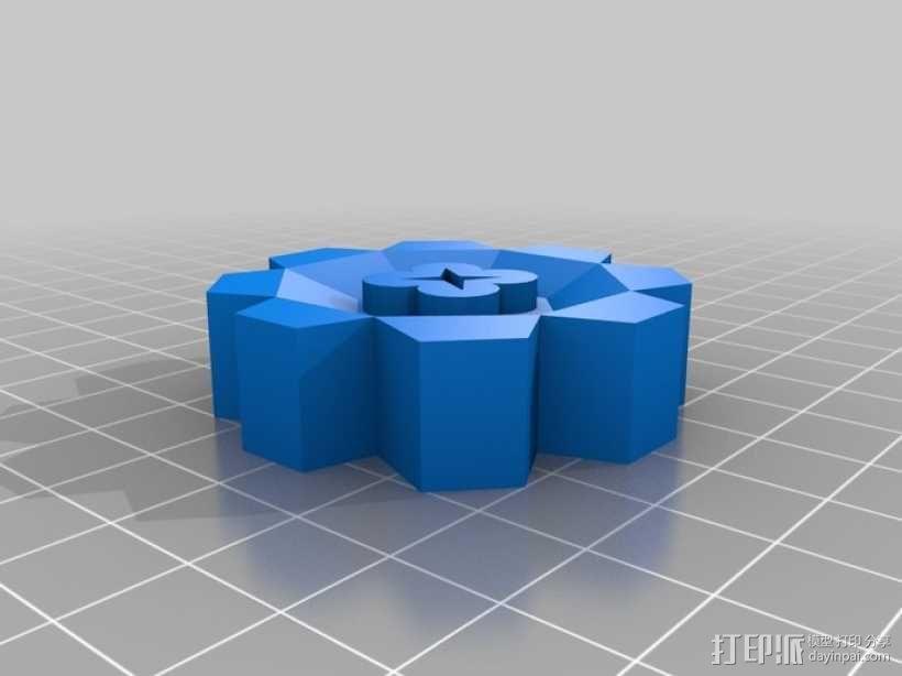 口袋妖怪图鉴徽章 3D模型  图7