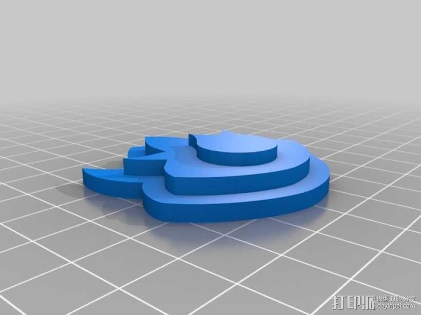 口袋妖怪图鉴徽章 3D模型  图10