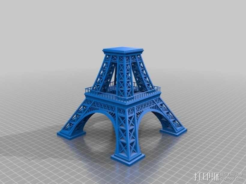 埃菲尔铁塔 3D模型  图8