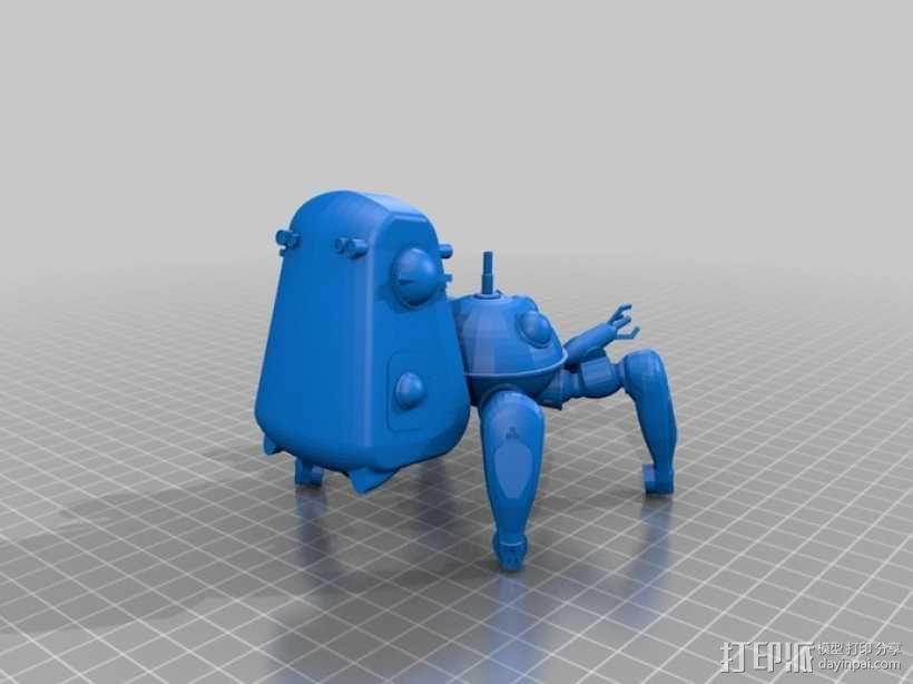 塔奇克马 3D模型  图1