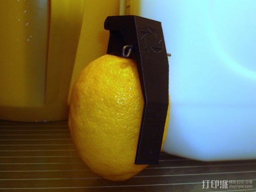 柠檬手榴弹 3D模型  图1
