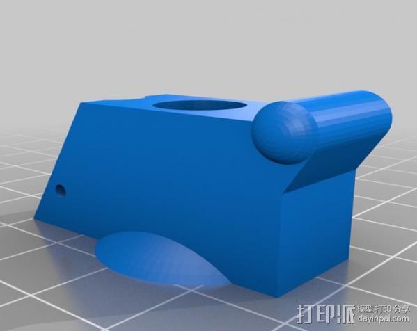 柠檬手榴弹 3D模型  图3