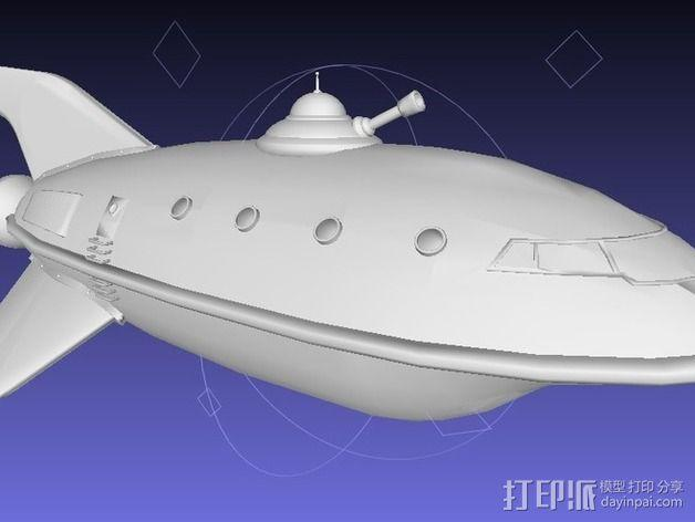 行星快递飞船 3D模型  图2