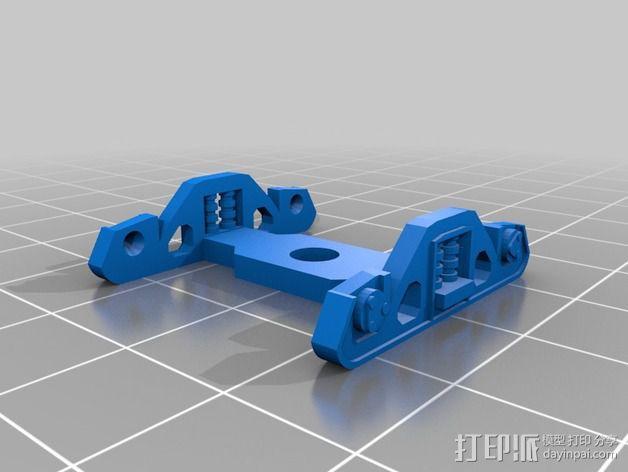 集装箱有轨列车 3D模型  图2