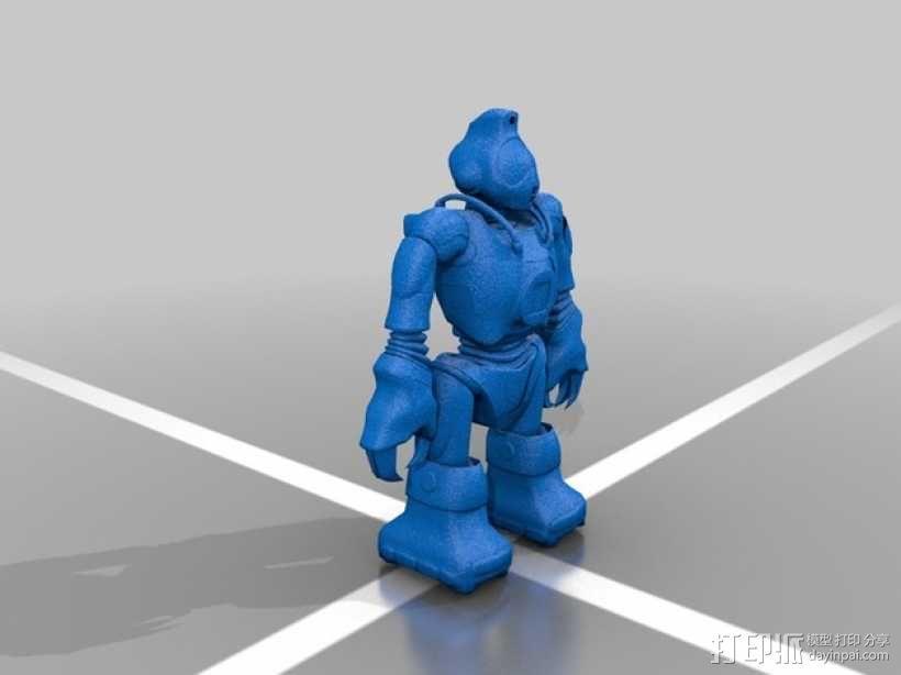 Robosapien智能机器人 3D模型  图1