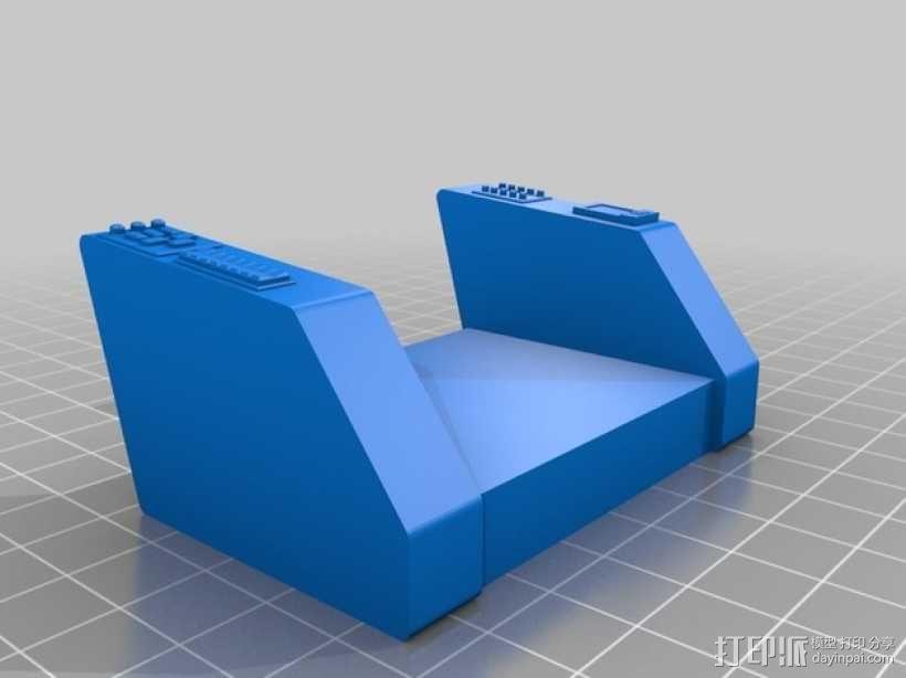 柯克船长指挥椅 3D模型  图1