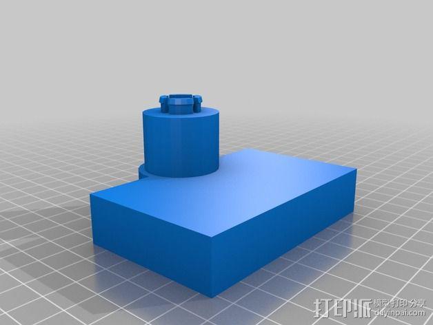 柯克船长指挥椅 3D模型  图2