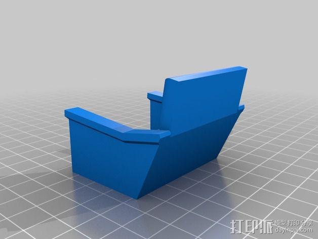 柯克船长指挥椅 3D模型  图3