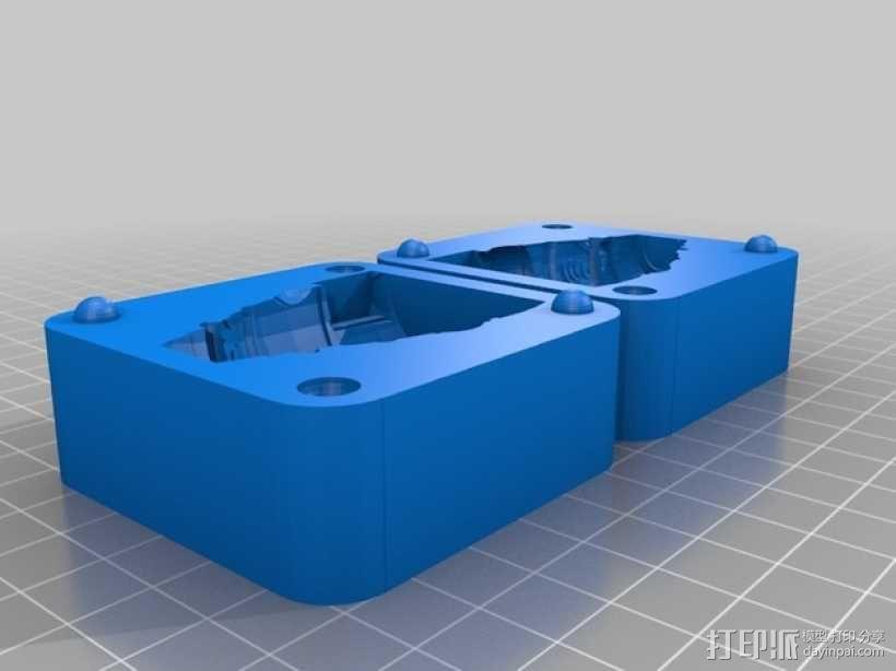 Oogoo公鸡模具 3D模型  图2
