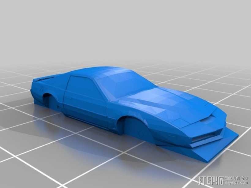 Pontiac Firebird庞蒂亚克火鸟超级跑车 3D模型  图1