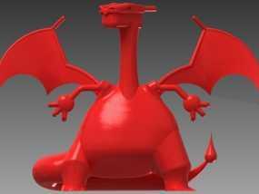 喷火龙 3D模型