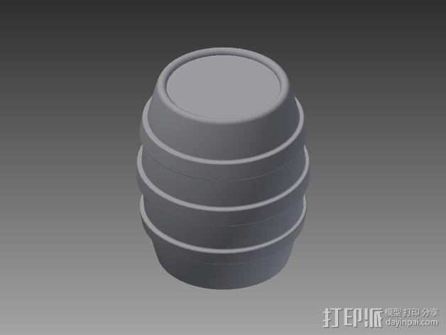 玩具台球桌 3D模型  图4