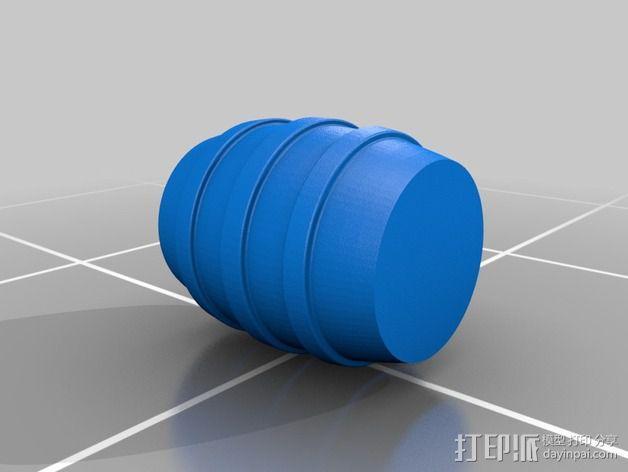 玩具台球桌 3D模型  图7