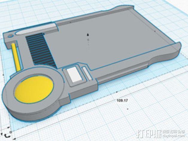 护照模具 3D模型  图1