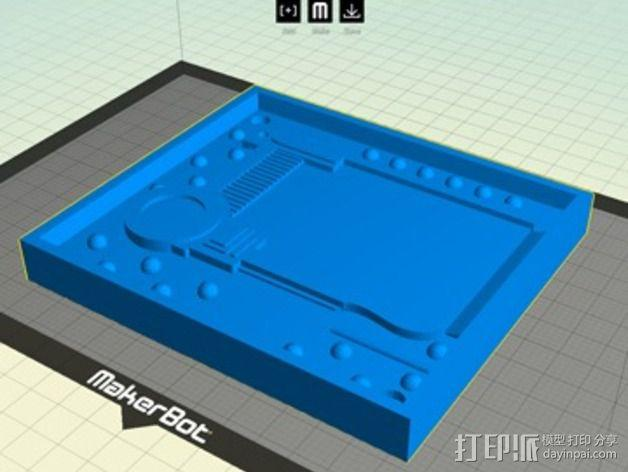 护照模具 3D模型  图4