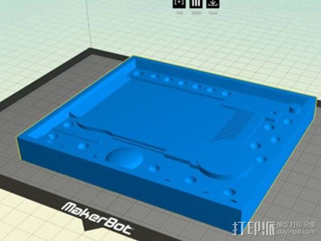 护照模具 3D模型  图5