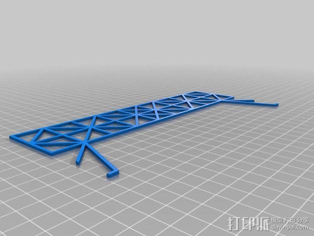 车间构架模型 3D模型  图8