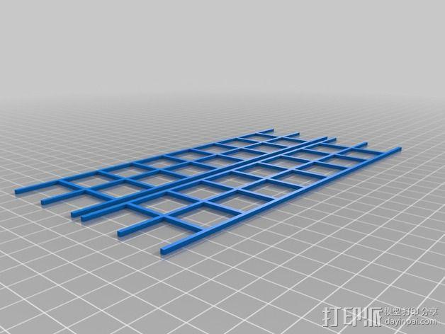 车间构架模型 3D模型  图10