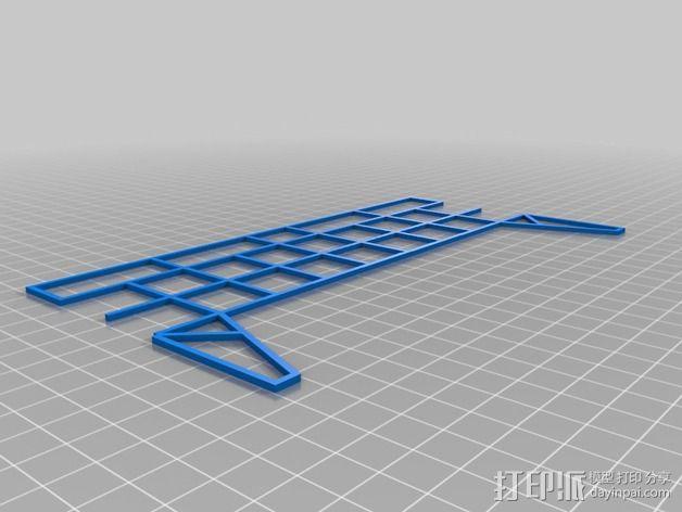 车间构架模型 3D模型  图12