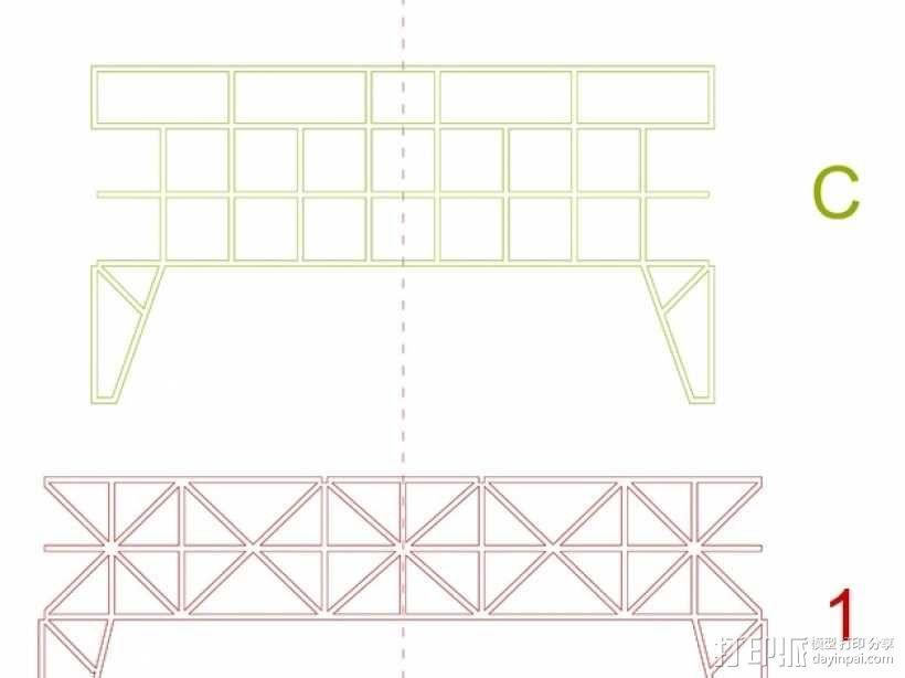 车间构架模型 3D模型  图15